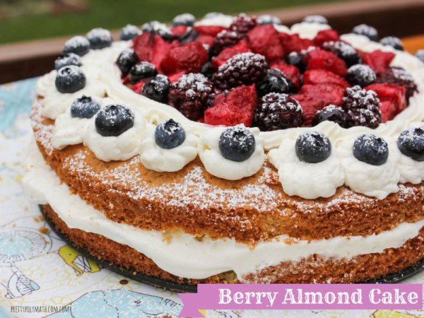 Berry Almond Cake | Milk & Cardamom