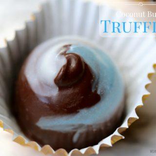 Coconut Burfi Truffles