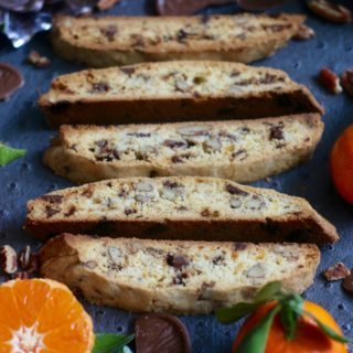 Chocolate and Orange Biscotti