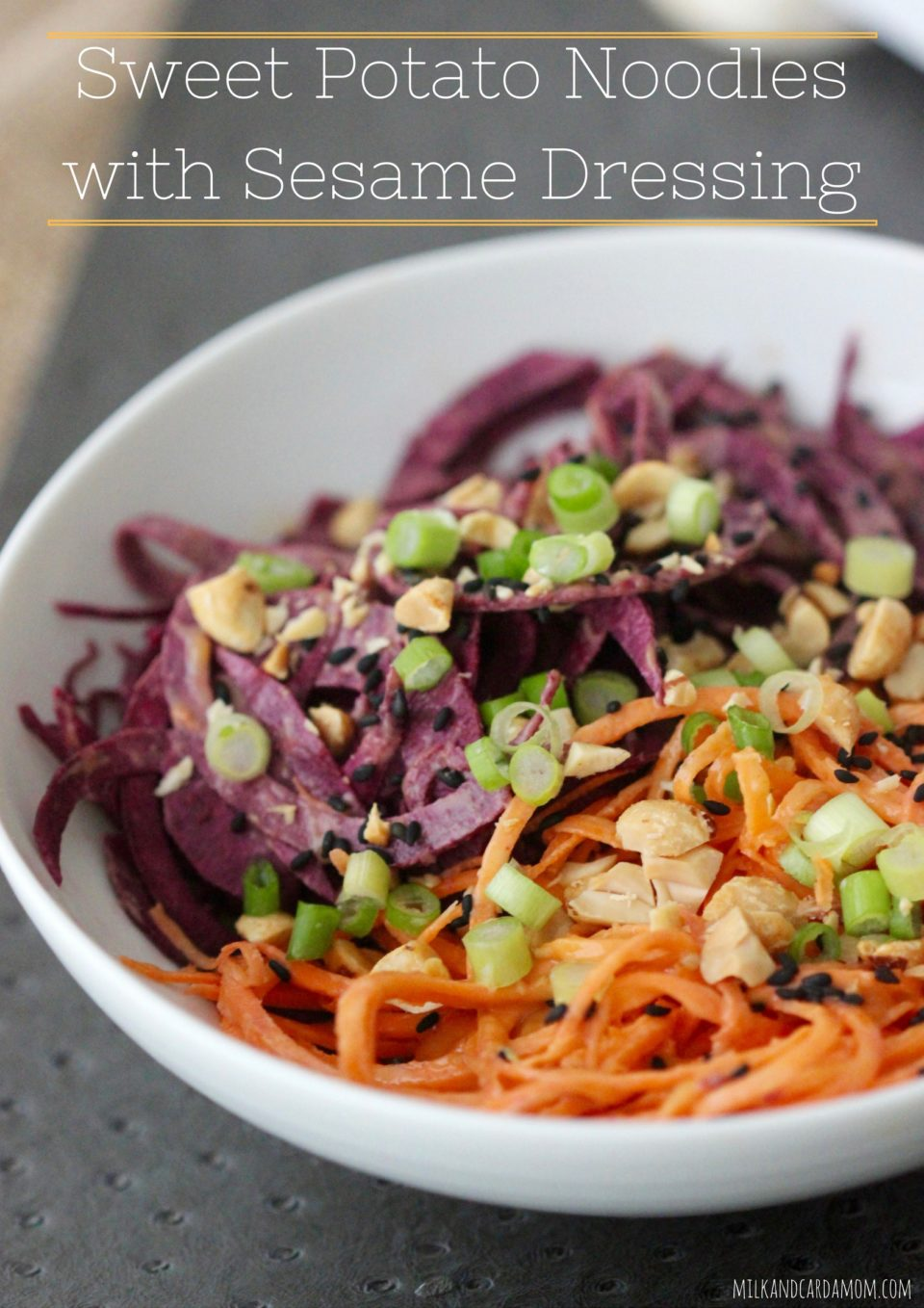 Sweet Potato with Sesame Dressing