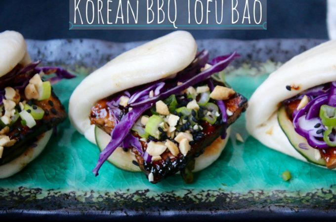 Korean BBQ Tofu Bao