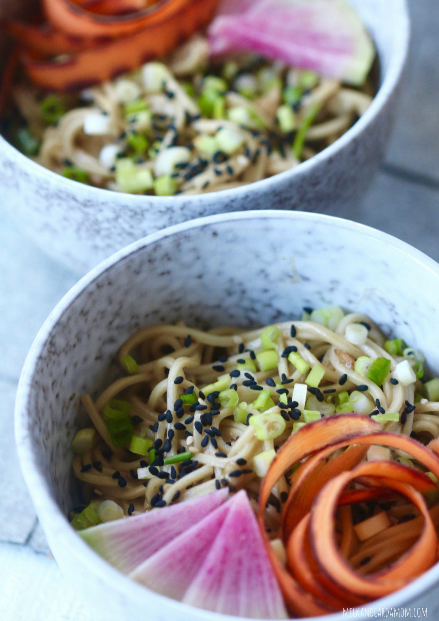 10 Minute Scallion Noodles (Peanut-Free)