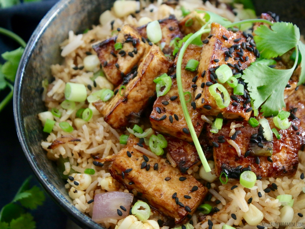 Vegan Teriyaki Fried Rice